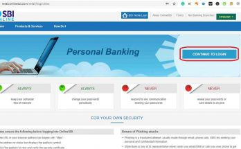 SBI Personal Banking- How to Money Transfer